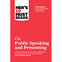 """HBR's 10 Must Reads on Public Speaking and Presenting (with featured article """"How to Give a Killer Presentation"""" By…"""