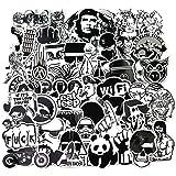 Sanmatic Stickers Pack [120 stuks], vinyl laptop stickers voor auto, motorfiets, fiets, bagage, graffiti-patches skateboard m