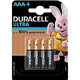 Duracell Ultra Alkaline AAA Battery, 4 Pieces