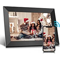 Jeemak WiFi Digital Photo Frame 10.1 inch Picture Frame with IPS Touch Screen Portrait or Landscape Stand Auto-Rotate…
