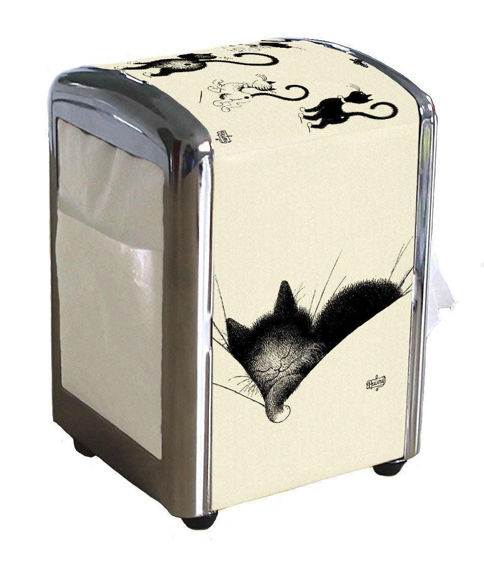 Dubout da gatti Distributore per asciugamani di carta