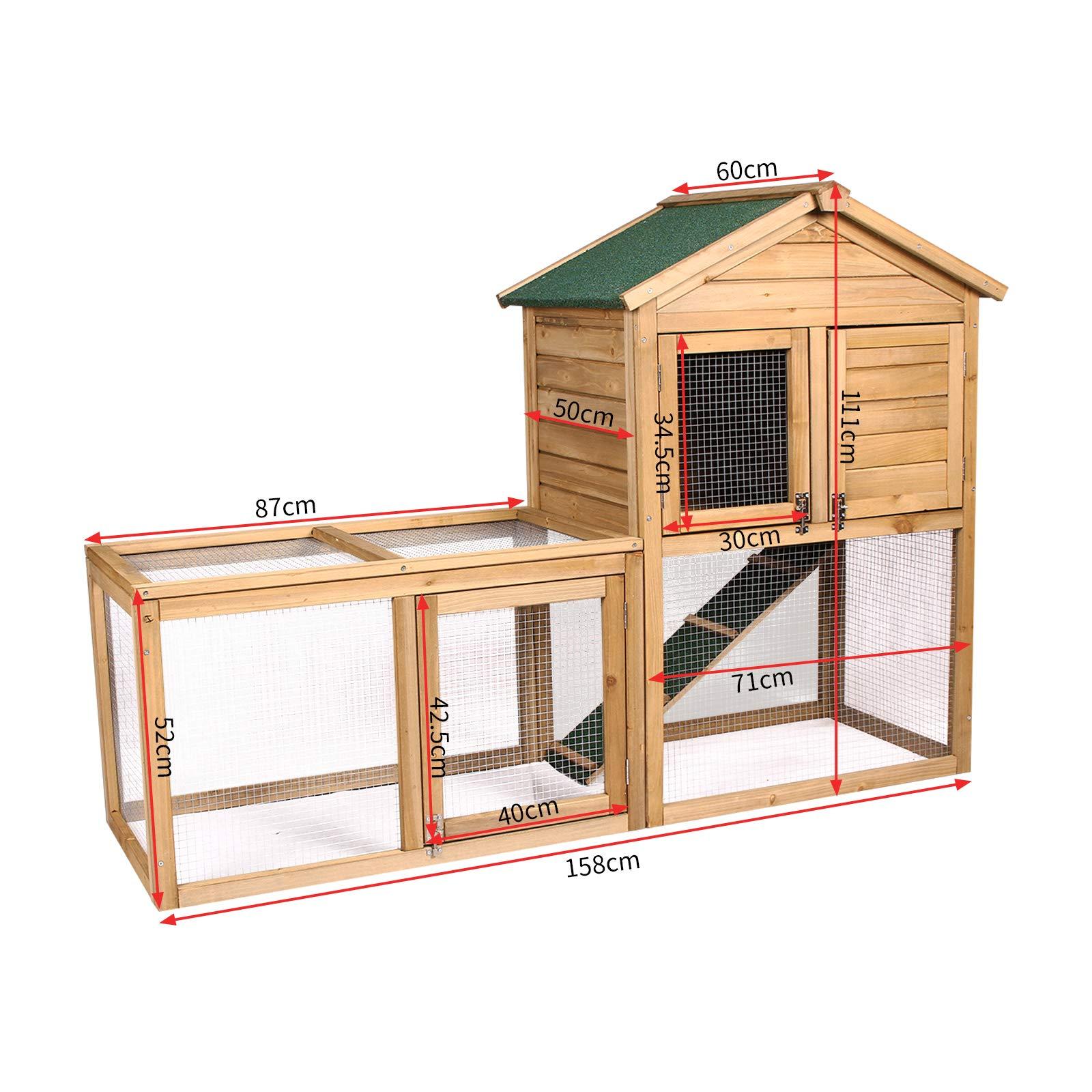 Rosewood t/únel de actividades para jugar para peque/ños animales como conejos