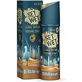 Set Wet Global Edition Dubai Delights, No Gas Perfume Body Spray & Deodorant For Men, 48 Hour Long Lasting Fragrance, 120 ml