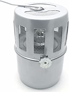 apollo small greenhouse heater instructions