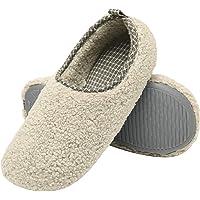 ChayChax Chaussons de Maison Femme Hiver Chaud Peluche Pantoufles Mousse à Mémoire Légère Confort Chaussures en Coton d…