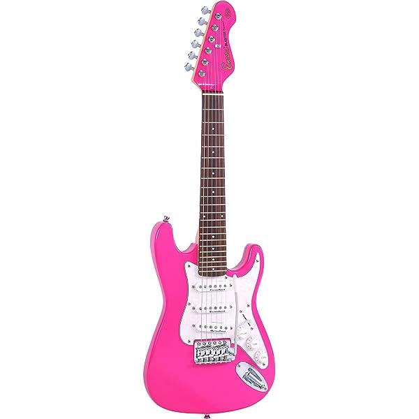 Pink Encore Blaster 3//4 Guitar