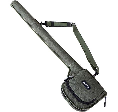 Benkeg Fishing Rod Case Fishing Rod Case Portable Fishing Rod Reel Storage Tube Case Fly Fishing Bag