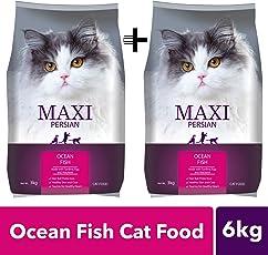 Maxi Persian Cat Food, 3 kg (Buy 1 GET 1 Free)