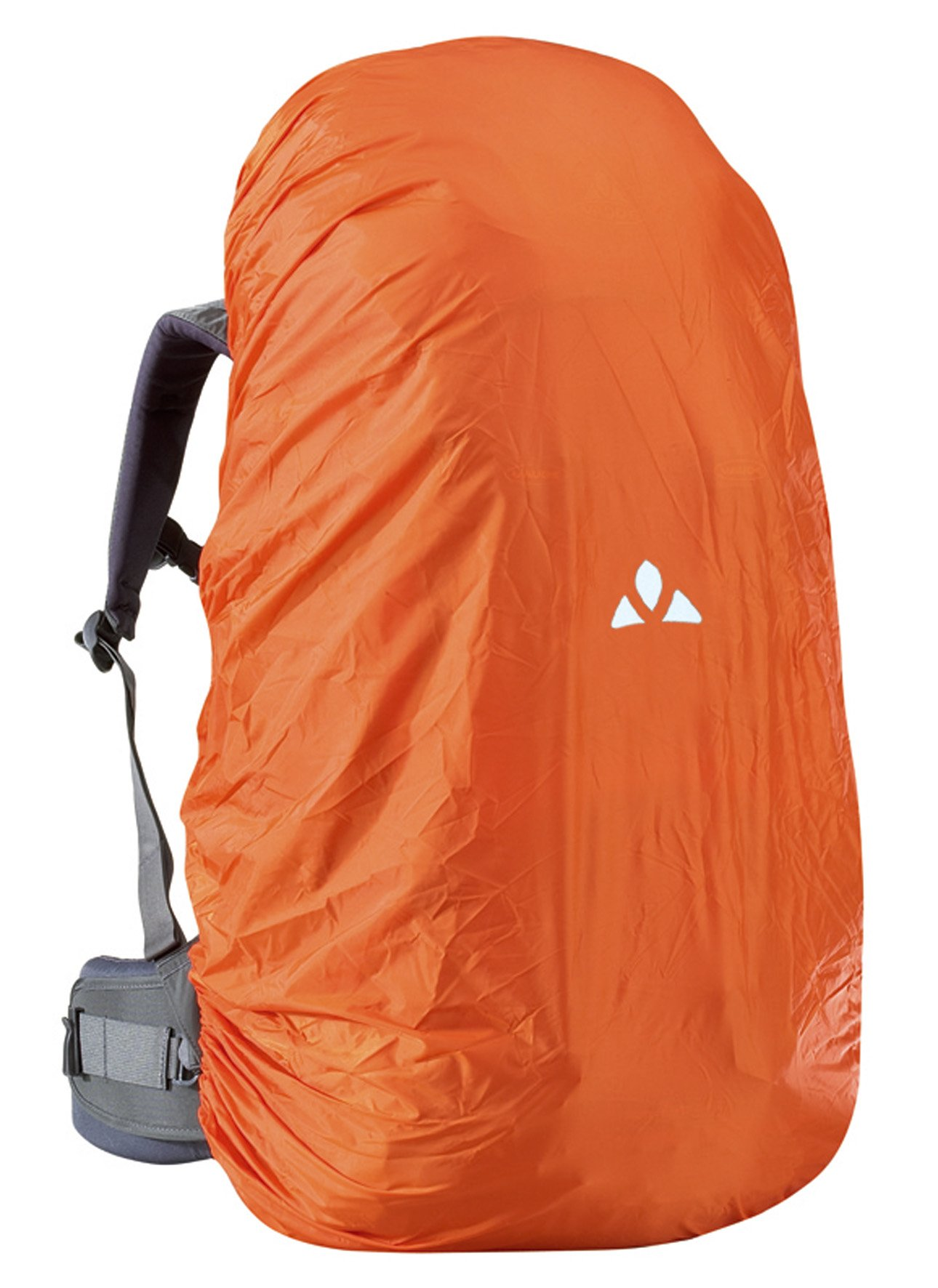 71YlgEBx90L - VAUDE Raincover for Backpacks 6-15 l orange backpack accessories