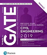 Previous Years' Solved Question Papers: GATE Civil Engineering, 2019 by Pearson