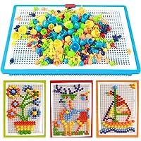 Jeu De Construction Mosaïque Puzzle Enfant Jouet Educatif Créatif Jouet Assemblage 296Pcs pour Garçons et filles plus de…