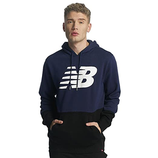 33f53494b8fa1 New Balance Essentials Pullover Hoodie: Amazon.co.uk: Clothing