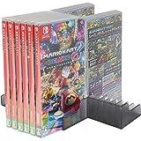 Soporte de almacenamiento de tarjetas de juego para Nintendo Switch NS para 24 discos CD o tarjetero # 21-YXZJ