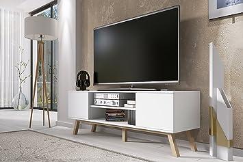 Vero Wood - Mobile Porta TV / Mobiletto Porta TV Moderno (150 cm ...