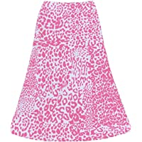 Women's Boho Heart Print Harajuku Skirt High Waist A Line Stylish Swing Long Midi Skirts Y2K Slim Fit Dailywear