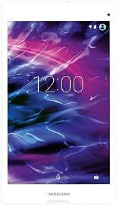 Medion MD99488 20,3 cm (8 Zoll) Tablet PC (Intel Atom Z3735F, 2GB RAM, 16GB SSD, IPS-Technologie, 5 Megapixel Kamera, Android Lollipop 5.0) weiß