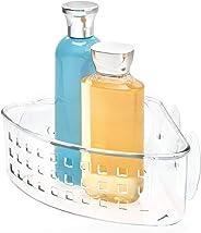 InterDesign Bathroom Shower Suction Shampoo Conditioner Organizer Basket