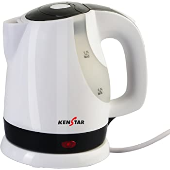 Kenstar KKB10C3P-DBH 1-Litre Electric Kettle (White)