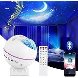 Shayson LED Sternenhimmel Projektor Lampe, Ozeanwellen Projektor Nachtlicht, Ferngesteuertes Nachtlicht, Romantische Atmosphä