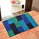 Modern Fab® Pure Cotton Anti Skid Water Obsorbing Door Mat - 50cm x 80 cm, Multi Color