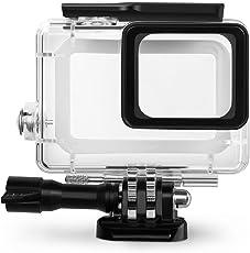 Rhodesy Custodia Protettiva Impermeabile Include Supporti e Viti per GoPro HERO 2018 Hero 6 Hero 5 Action Camera