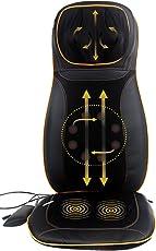 JSB HF64 Full Back, Neck and Shoulder Kneading Massager (Black)