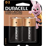 Duracell 32058 Type D Batteries, Pieces of 2