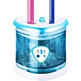 (BLUE) - Electric Pencil Sharpener With Battery Operated, Pencils Sharpener Automatic Supplies For Kids Desk, Electric Sharpe