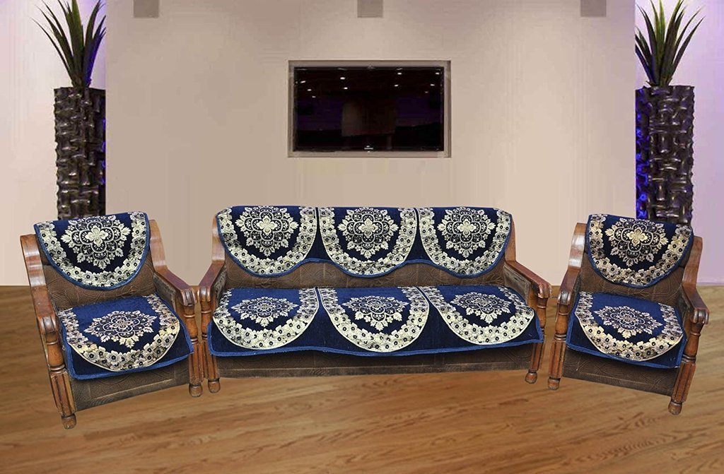 Buy SOFA COVER SET AND DIWAN SET COMBO Online at Low Prices in