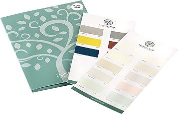 Lignocolor Wandfarben Farbtonkarte Echtaufstriche
