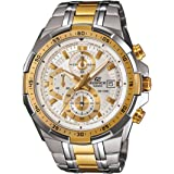 Casio Mens Quartz Watch, Analog Display and Stainless Steel Strap EFR-539SG-7AVUDF