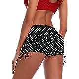 Summer Mae Donna Pantaloncini da Bagno con Drawstring Regolabile Asciugatura Rapida Pantaloncini da Bagno