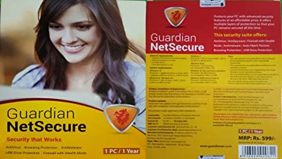 Guardian NetSecure - 1 PC, 1 Year