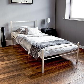 Einzelbett design  Dorset UK Einzelbett, ca. 90 x 190 cm, Weiß von Vida Designs: Amazon ...