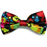 Dickie Bows Multi-Coloured Splash of Paint Party Bow