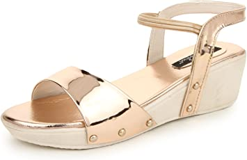 Funku Fashion Women's Synthetic Platform Heels