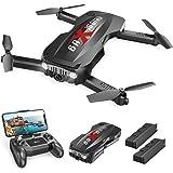 Holy Stone Faltbare Mini Drohne HS160P mit Kamera 1080P HD Live Übertragung für Kinder,FPV RC Quadcopter ferngesteuert mit 2