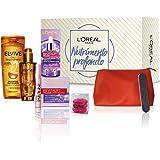 L'Oréal Paris Beauty Box Nutrimento Profondo, Include Shampoo e Trattamento Elvive Olio Straordinario, Crema Viso Giorno e Si