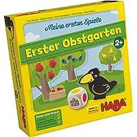 Haba 4655 - Meine ersten Spiele Erster Obstgarten, unterhaltsames Brettspiel rund um Farben und Formen ab 2 Jahren…