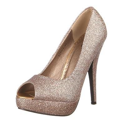 Ital-Design Damen Schuhe 6771-P Pumps