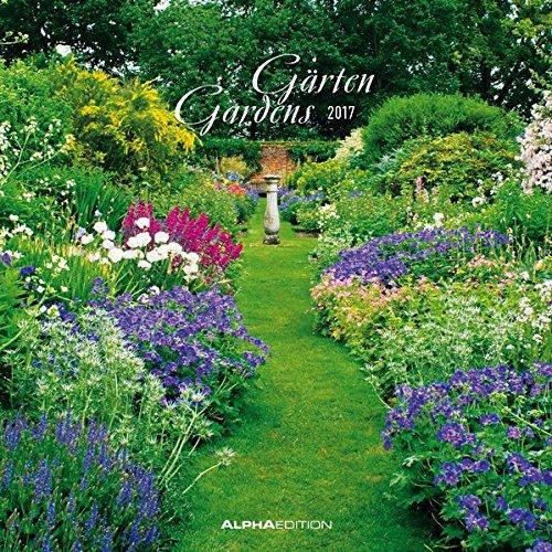 Preisvergleich Produktbild Gärten 2017 - Gardens - Broschürenkalender (30 x 60 geöffnet) - Wandplaner