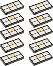 Non-brand 10x Replacement Vaccum Part Filter Kit for IRobot Roomba 870 800 880 960 980
