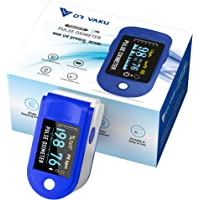 DR VAKU® Swadesi Pulse Oximeter Fingertip, Blood Oxygen Saturation Monitor Fingertip, Blood Oxygen Meter Finger Oximeter…