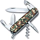 Victorinox Swiss Army Knife - Spartan - 12 Functions, Multitool - Camouflage Green, 91 mm