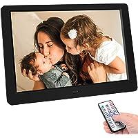 Tenswall 10 Inch Digital Photo Frame Upgraded High Resolution Full IPS Display Photo/Music/Video Player Calendar Alarm…