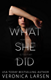 What She Did (English Edition)