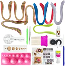 Vipra 19 Piece Quilling Tools Kit With 800 Papers