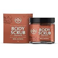 The Beauty Co. Chocolate Coffee Body Scrub, 100 gm | Natural Scrub | Coffee Scrub With Sugar, Cocoa, Walnut Shell Powder…