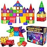 Desire Deluxe Ensemble de Blocs et Briques Magnétiques de Construction - Jouet éducatif pour enfants, filles et garçons 3, 4,