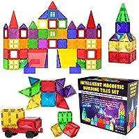 Desire Deluxe Ensemble de Blocs et Briques Magnétiques de Construction - Jouet éducatif pour enfants, filles et garçons…